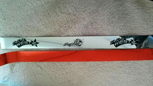 ジャニーズWEST・パリピポ・赤・銀テープ・重岡☆☆★★