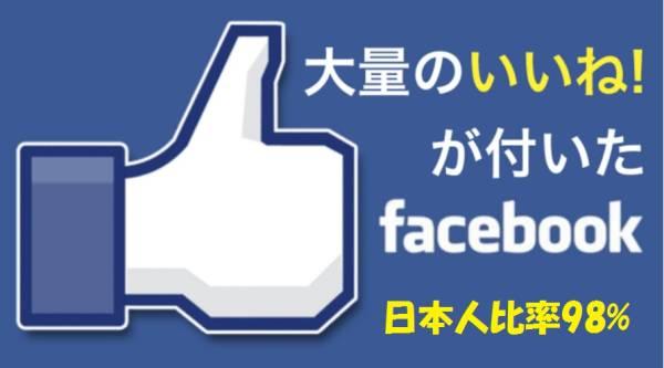 5万いいね(1月27日現在)★日本人アカウント<98%>優良Facebookページ