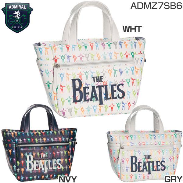 ADMIRAL/BEATLES/ビートルズラウンドトート/ADMZ7SB6/ホワイト