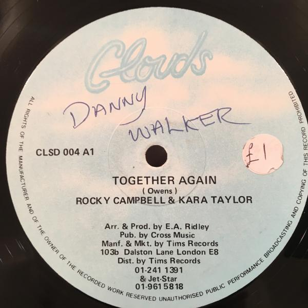 ★Rocky Campbell & Kara Taylor/Together Again