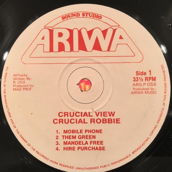 ★Crucial Robbie/Crucial View★KILLER DIGI LP!_画像2
