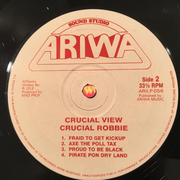 ★Crucial Robbie/Crucial View★KILLER DIGI LP!_画像3