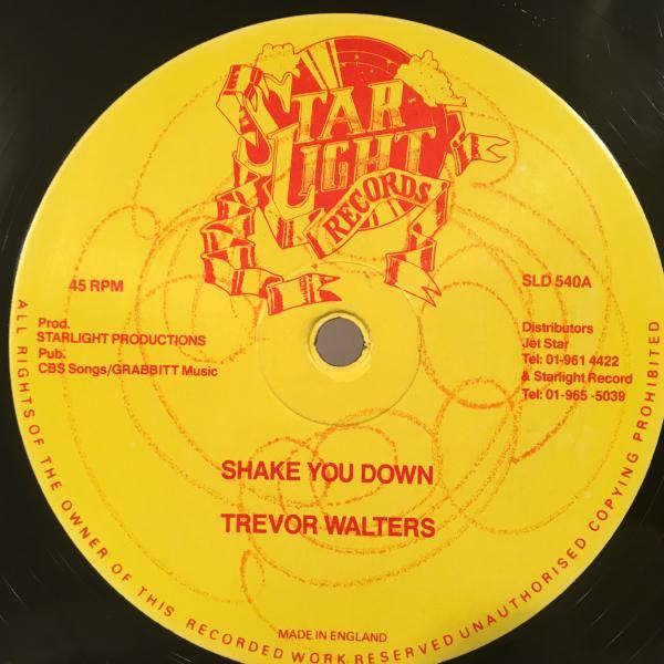 ★Trevor Walters/Shake You Down★ソウル名曲カバー!_画像1