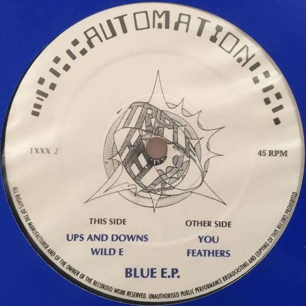 ☆Automation/Blue EP☆UK HOUSE/RAVE傑作!_画像1
