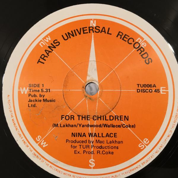 ★Nina Wallace/For The Children★KIDSコーラスLOVERS隠れ名作