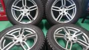 スタッドレス ◆ヨコハマ ジオランダーI/T-S 255/55R18◆ 2本9~9.5分山 2本9分山 BMW F15E70 X5用 ゴム質は柔らかく状態は良いです♪