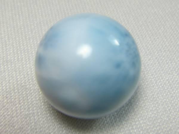天然石 美! ラリマー 超大玉 約16㎜~16.5㎜ H512_画像1
