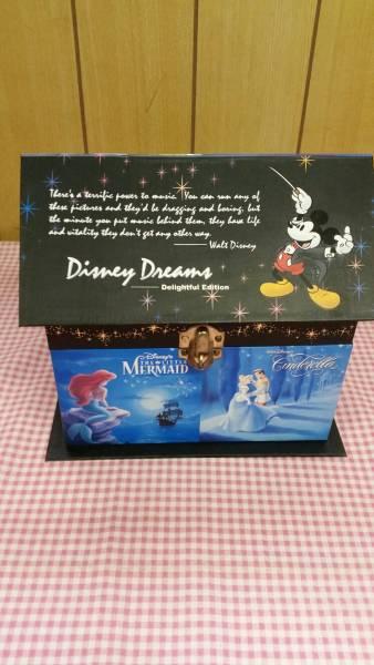 ディズニーストア シンデレラ ミュージックBOX 箱 鍵付き クルクルまわる アクセサリーケース オルゴール