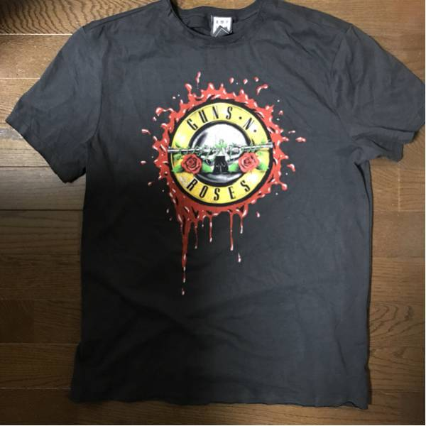 【新品未使用】ガンズアンドローゼズ GUNS N' ROSES ツアー限定Tシャツ【M】送料無料 ライブグッズの画像