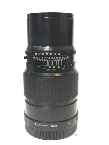 ゼンザブロニカETR用交換レンズ(望遠250mm)f5.6