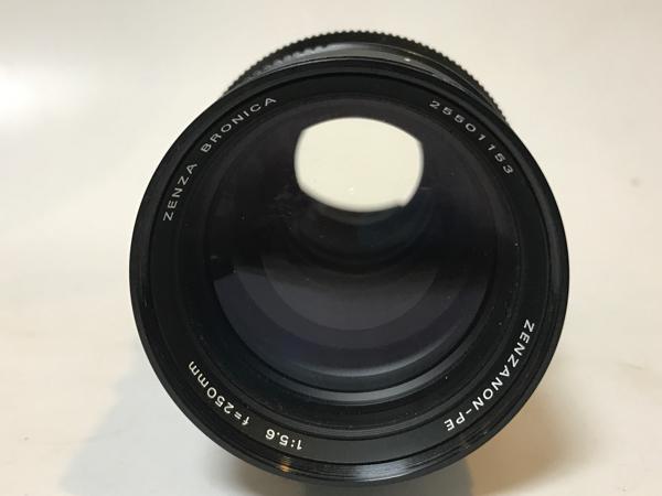 ゼンザブロニカETR用交換レンズ(望遠250mm)f5.6_画像2