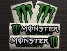 Monster Energy 4枚組 製作代行 3色カッティングステッカー DC Shoes Ken Block