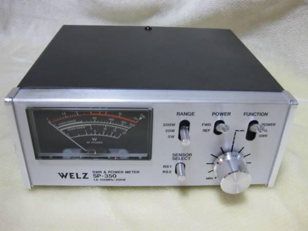 ★☆WELZ SWRパワー計 SP-350 1.8~500MHz☆★