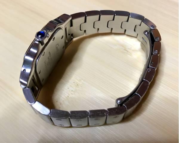 カルティエ 腕時計 サントスガルべSM レディース 中古 本物!_画像3