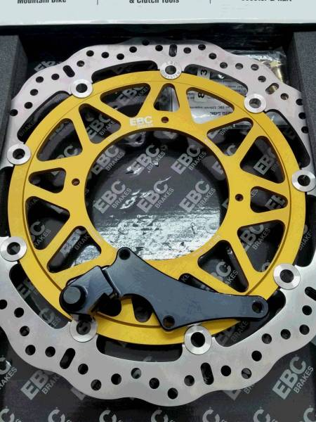 新品 売切りEBC320mmブレーキローターキット XR250/CRM250AR_画像1