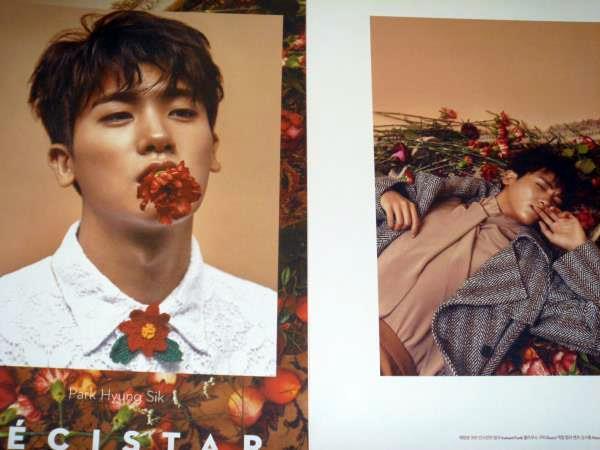 ZE:A パク・ヒョンシク☆彡韓国雑誌切り抜き 12ページ 2017年1月号
