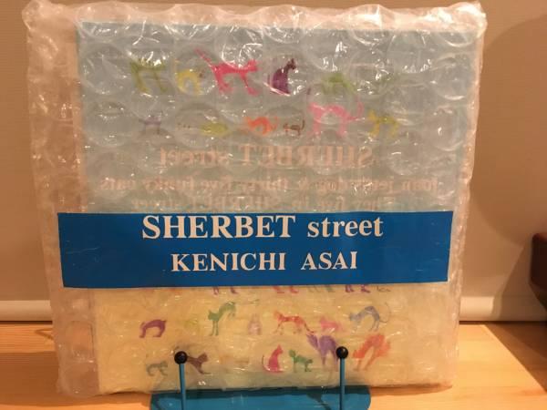 ■SHERBET STREET/浅井健一 ブランキー・ジェット・シティー CD ポスター付き ライブグッズの画像