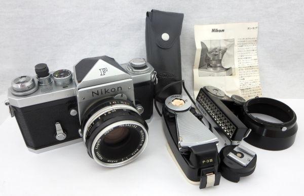 Nikon F NIKKOR-S Auto 1:2 f=5cm ニコン エフ 付属品有 1YIT-011P