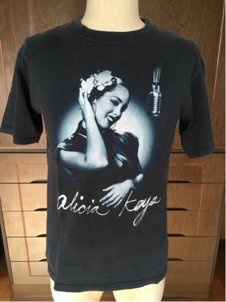 アリシアキーズ alicia keys 2005年ツアーTシャツ S■R&B hip hop