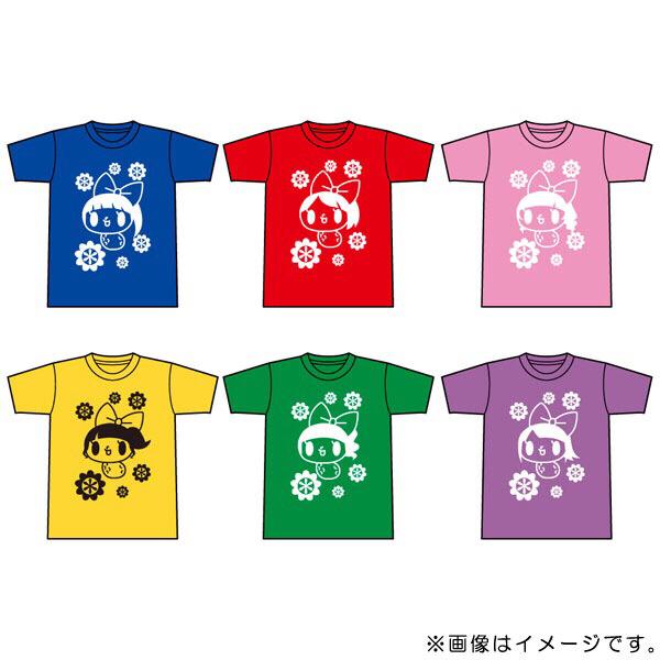 チームしゃちほこ しゃちぴーTシャツ 秋本帆華 Mサイズ 新品 ライブグッズの画像
