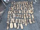 レア 鞆の浦 鯛網 貴重 看板年代物レトロ 昭和50s 什器73個インテリア