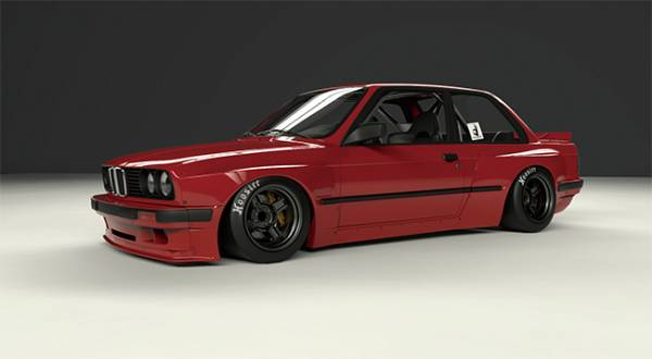 PANDEM BMW E30 Wide body kit_画像1