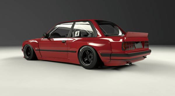 PANDEM BMW E30 Wide body kit_画像2