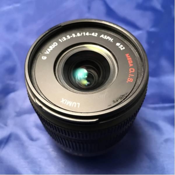 《美品》 LUMIX G VARIO 14-42mm f3.5-5.6 ミラーレス レンズ