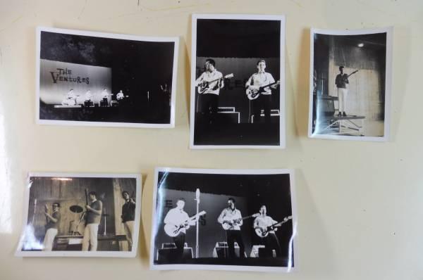 当時物 ザ・ベンチャーズ コンサート 写真 1960年代5枚