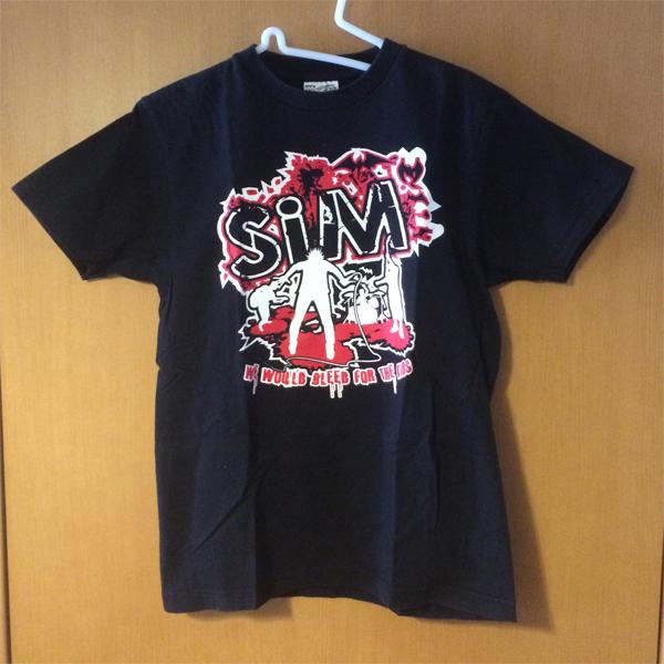 SiM Tシャツ 初期