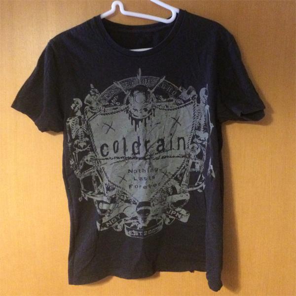 coldrain Tシャツ ライブグッズの画像