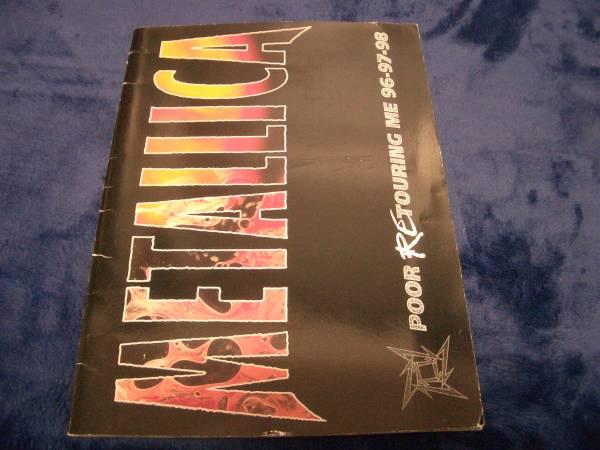 メタリカ★METALLICA  【POOR RE TOURING ME 96-97-98】 パンフレット