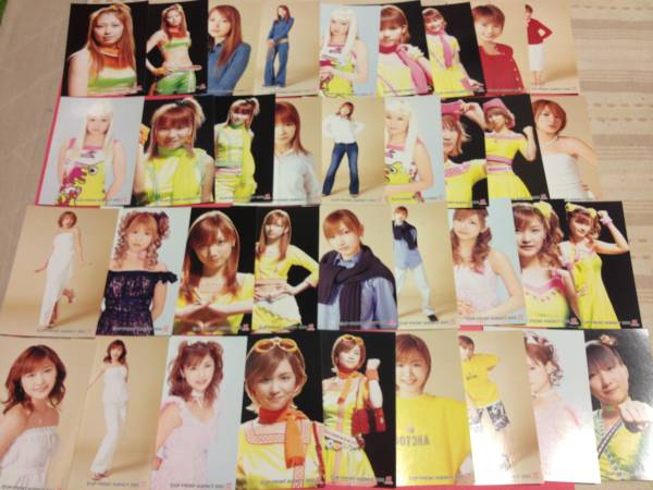 ★トレカ・カード★モーニング娘ブロマイドL判サイズ全72種+生写真11種 コンサートグッズの画像