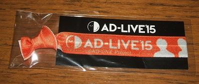 AD-LIVE2015[リボンバンド]鈴村健一岡本信彦谷山紀章