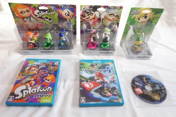 任天堂 WiiU (32GB) 本体 スプラトゥーン マリオカート セット 他 おまけ付き_画像3