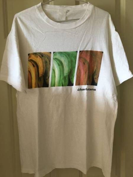 The Charlatans ザ・シャーラタンズ 90s ビンテージ オリジナル Tシャツ