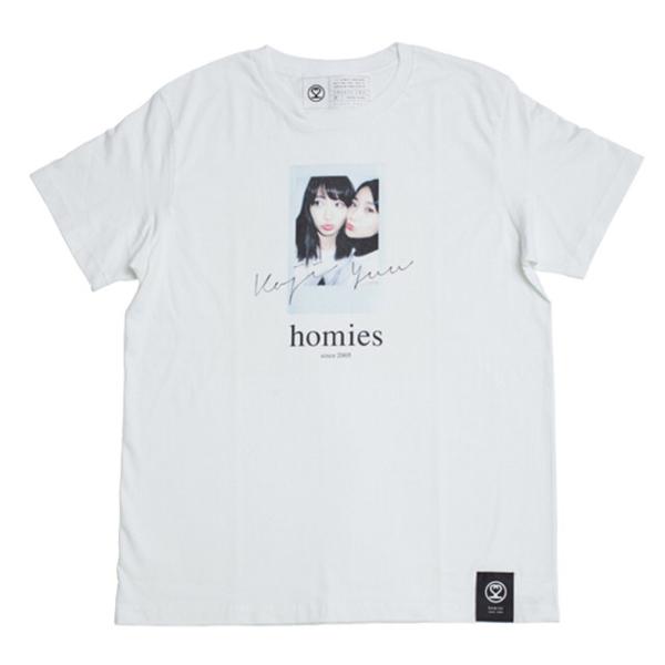 こじゆう 絆Tシャツ Mサイズ ホワイト homies 22;market 小嶋陽菜 大島優子 AKB48