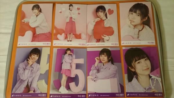 乃木坂46 寺田蘭世 5th Anniversary バレンタイン 生写真 8種 コンプ