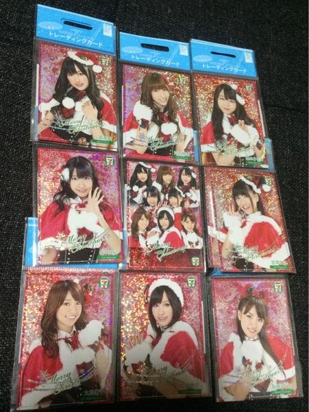 【超希少・非売品】新品未開封!セブンイレブン限定 AKB48 オフィシャル トレーディングカード