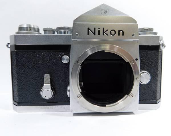 ニコン Nikon F フィルムカメラ 一眼レフ ボディ マニュアルフォーカス 日本製_画像2
