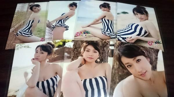 大島優子 海外旅行日記 ハワイはハワイ 生写真 18枚 セミコンプリート