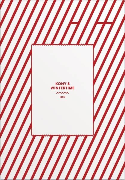 新品 iKON KONY'S WINTERTIME 初回生産限定版 2DVD+グッズ 送料無料