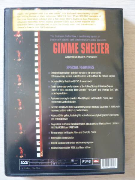 The Rolling Stones Gimme Shelter ★ローリング ストーンズ / ギミー シェルター_画像2
