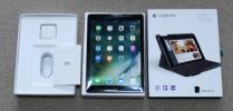 ◆Apple iPad Air2 128GB Wifi + Cellular+ Apple care+保証+付属品完備+キーボード付 全て新品 / 他SIMフリーiPhoneなども出品中