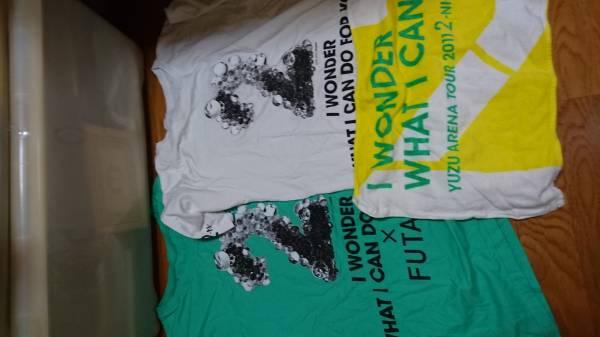 ゆずの2ツアーTシャツとタオルセット美品 ライブグッズの画像