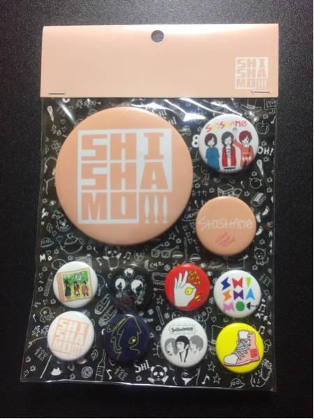 SHISHAMO 缶バッジ ピンク /シシャモ バンド グッズ CD docomo