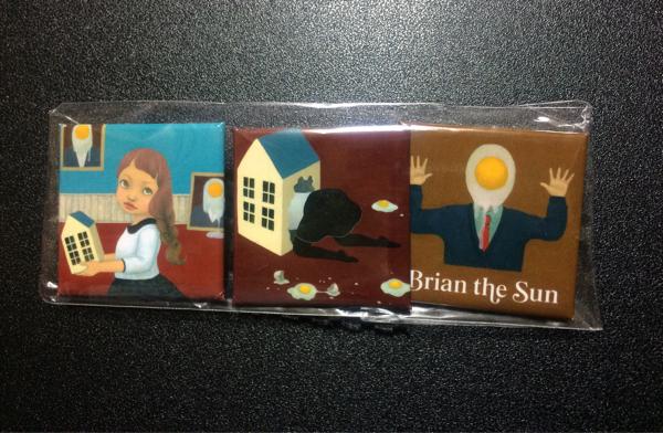 Brian the Sun 缶バッジ/インディーズ グッズ CD バンド