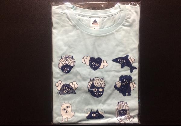 ゲスの極み乙女。 Tシャツ Mサイズ 水色/バンド インディーズ グッズ CD ライブグッズの画像