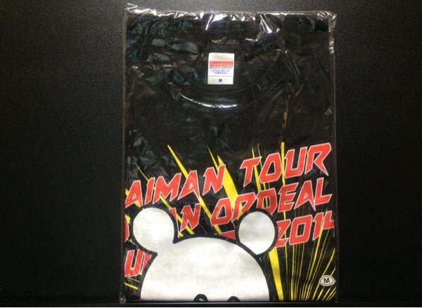 キュウソネコカミ TAIMAN Tシャツ 2014 M/バンドインディーズグッズCD ライブグッズの画像