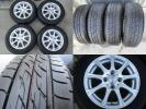 175/65R14 BS NEXTRY 2016年製 アルミ付 4本セット 4穴 PCD100